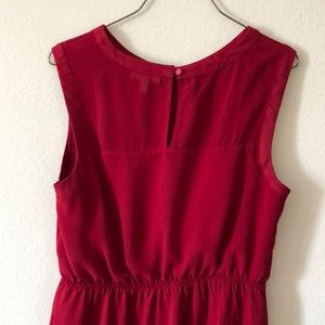 Monteau Dresses - Red a-line dress